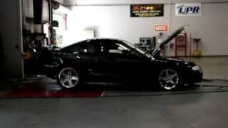 98 Cobra Mustang Vortech Dyno pull 1
