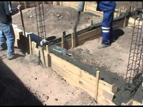 Bombeo de hormigon en encadenado inferior de vivienda ing - Como hacer un piso de hormigon ...
