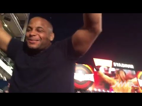 Daniel Cormier Celebrates Seth Rollins' WWE Heavyweight Title Victory at WrestleMania 31