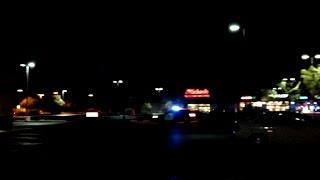 Car Chase in Hemet, California  -  10pm January 15, 2015
