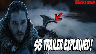 Game Of Thrones Season 8 TRAILER Explained! (Dragonstone Teaser)