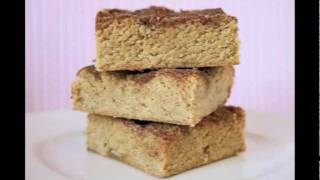 Baking 911: Snickerdoodle Blondies