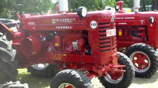 Classic Farm Tractor show , old brands , Kalmthout , 16 6 2013
