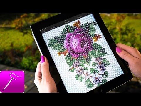 Crossty для Android. Вышивка с экрана.