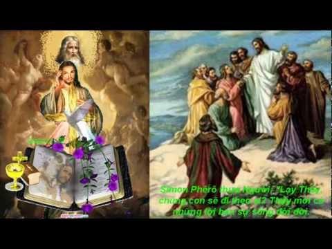 (CN-21-B) Thầy mới có những lời ban sự sống đời đời
