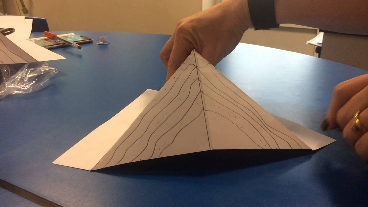 Pop up volcano instructions _ Mrs Eastham - YouTube