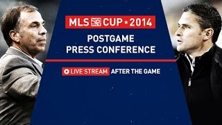 MLS Post-Game Press Conference | MLS Cup 2014