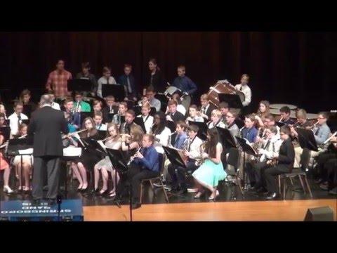 Springboro Junior High School: 7th Grade Spring Concert 2016