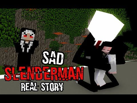 Monster School : Sad Slenderman Real Story