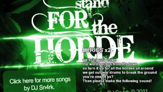 Repeat youtube video Stand For The Horde
