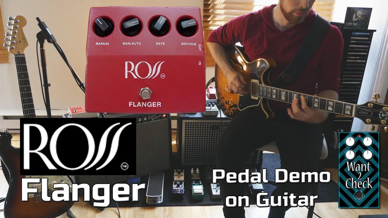 ross flanger pedal demo for guitar want 2 check youtube