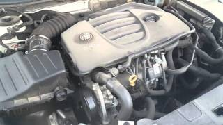 2012 Buick Regal GS cold Start issue