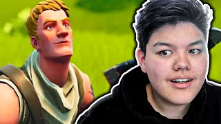 HE WILL BE GEMOBBT because HE DOES NOT HAVE SKIN BUT THEN... 😨 | Fortnite Random Duos