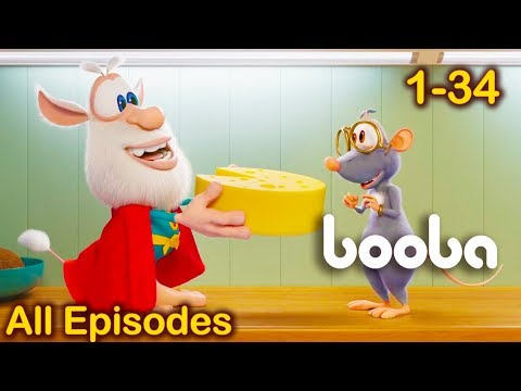 Booba funny cartoons - All Episodes Compilation 34 for kids 2018 KEDOO ToonsTV