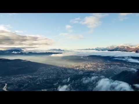 Enlaps - Time lapse de la mer de nuage - Alpes Françaises