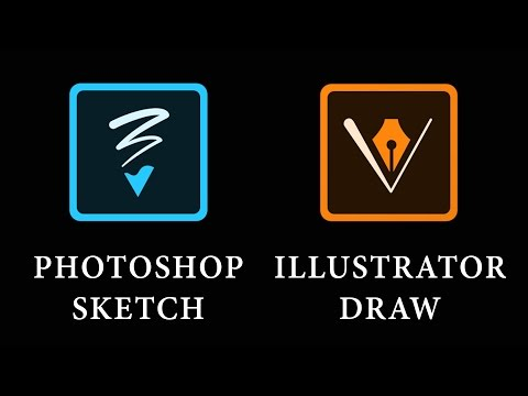 Оценка Photoshop Sketch и Illustrator Draw на Android (обзор)