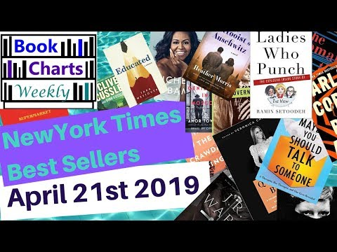 top-10-books-to-read---fiction-&-nonfiction:-new-york-times-best-sellers'-chart-(april-21st-2019).