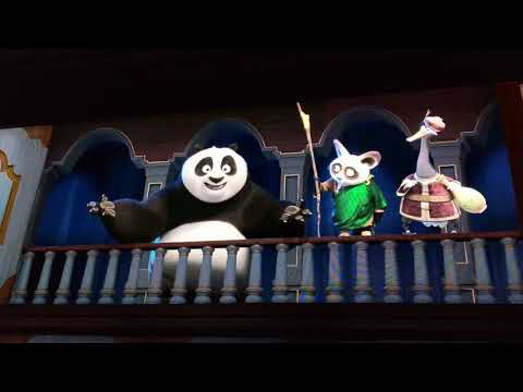 4K Kung Fu Panda at Dreamworks Theatre Is...