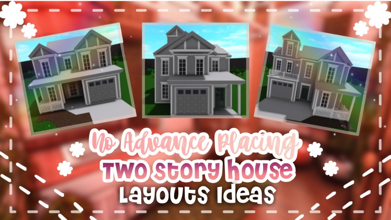 No Advanced Placing Under 10k Budget Two Story Family House Layout Ideas - iTapixca Builds