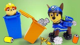 Щенячий патруль іграшки іграшка сміттєвоз для дітей: Щенячий патруль іграшки для дітей відео