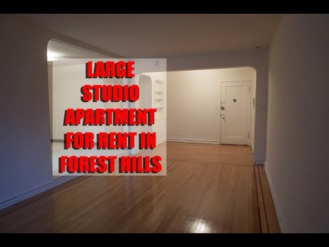 Extra large studio apartment for rent in Forest Hills, Queens, NY