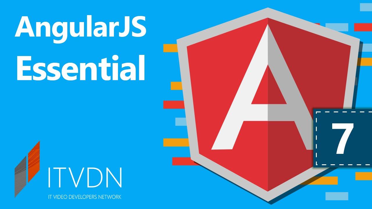Видеокурс по AngularJS Essential. Урок 7. Работа с модулями и сервисами