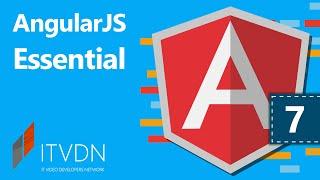 AngularJS Essential. Урок 7. Работа с модулями и сервисами