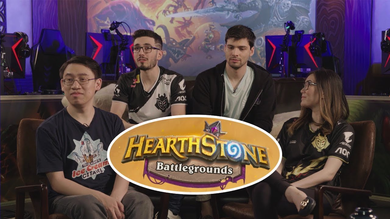 Playing in Team Fins | Hearthstone Battlegrounds BRAWL EVENT