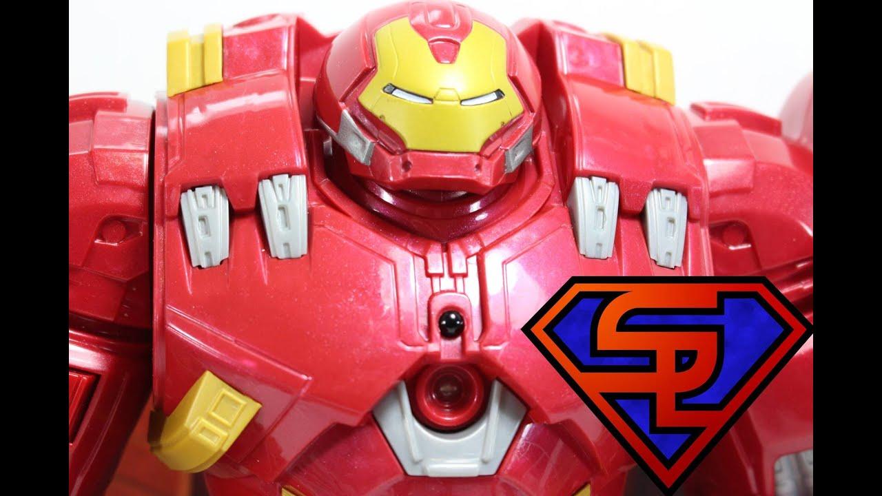Avengers Age Of Ultron Interactive Hulkbuster Titan Hero Tech Toy ...