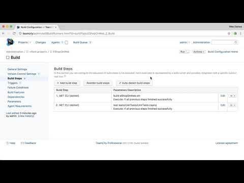 TeamCity NETCORE/ .NET CLI Support