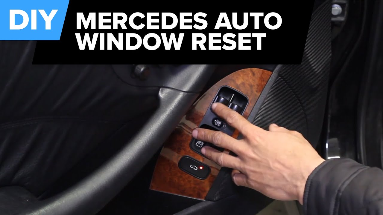 Mercedes Automatic Window Reset - Restore Functionality!