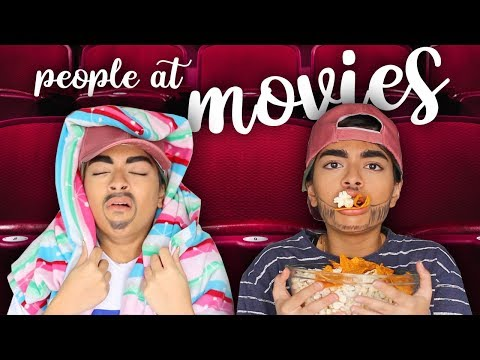 Types Of People At Movies
