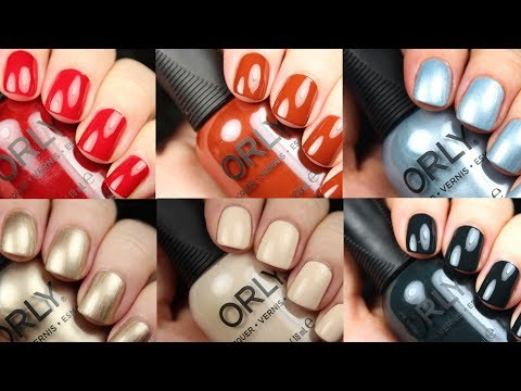Orly Darlings of Defiance Holiday 2017 Live Application Review