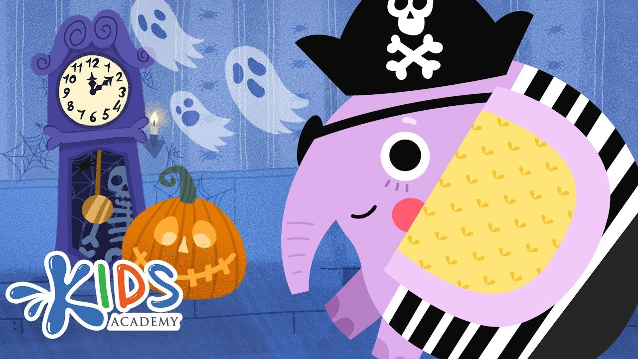 Download Hickory Dickory Dock Song - Halloween Special | Spooky Nursery Rhyme | Kids Academy