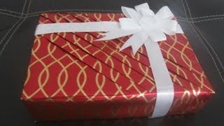 Part 1 Pleated wrapping - How to wrap your gifts in an elegant way