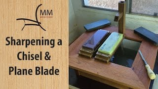 Sharpening A Chisel And Plane Blade