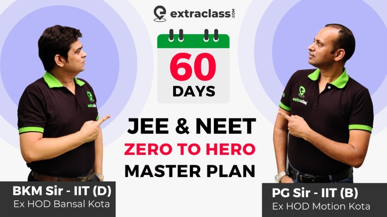 JEE & NEET 2020 September Strategy | 60 Days Master Plan for JEE MAINS/ADVANCED/NEET 2020 Extrac