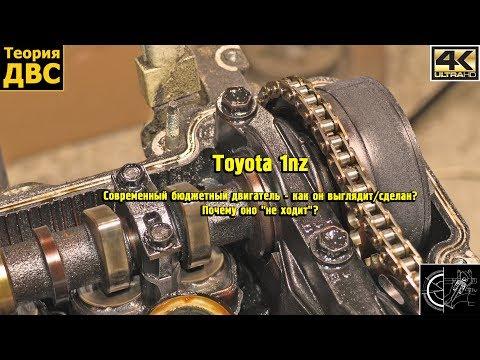 Фото к видео: Toyota 1nz - Современный бюджетный двигатель - как он выглядит/сделан