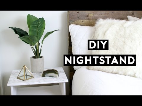 diy-marble-nightstand!-affordable-room-decor!-simple-ikea-hack!-tumblr-inspired!