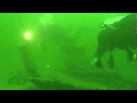 Shallow water wreck search