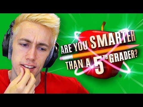 AM I SMARTER THAN A 5TH GRADER?