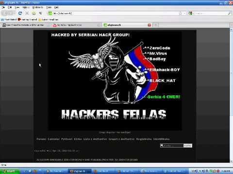 HACKED ahg team ALBANIAN FORUM By Serbian Hackers Fellaş Hack team AHG Gurubuna Katıldı !