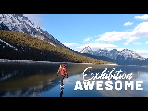 Man vs. Nature: Ice Skating on a Lake, Surfing & More | Exhibition Awesome
