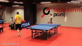 Masa Tenisi Turnuvası Maçı - 38.TT-Rating Turnuvası Alt Grup Final Maçı
