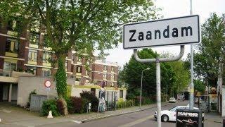 Visiting the New City Centre of Zaandam.