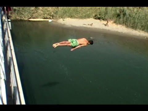 Happier Times in Syria, Euphrates River Swimming in Deir Ez-Zur