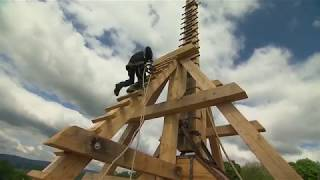 Giant Trebuchet: Daily Planet