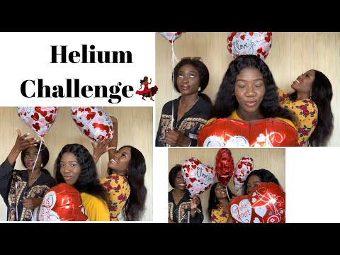 HELIUM balloon CHALLENGE || GAMES || Bible verses ft Nonso & Winifred |