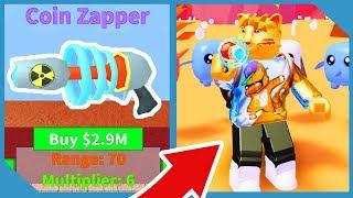 Comprar la moneda Zapper en Roblox Vacuum Simulator