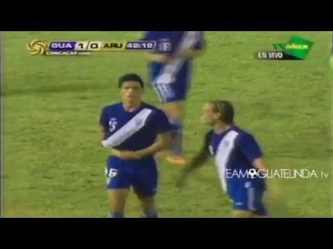 Gol de Carlos Estrada ante Aruba